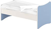 Односпальная кровать Славянская столица ДУ-КО12-13 (белый/синий) -