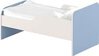 Односпальная кровать Славянская столица ДУ-КО12-11 (белый/синий) -