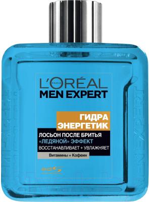 Лосьон после бритья L'Oreal Paris Men Expert гидра энергетик ледяной эффект (100мл)