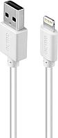 Кабель Acme CB1021W Lightning MFI cable / 504421 (1м) -
