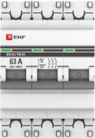 Выключатель нагрузки EKF PROxima ВН-63 3р 63А / sl63-3-63-pro -
