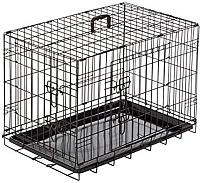 Клетка для животных Duvo Plus Pet Kennel Small 780/480/DV (черный) -
