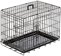 Клетка для животных Duvo Plus Pet Kennel XX-Large 780/484/DV (черный) -