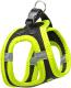 Шлея-жилетка для животных Ferplast Kaori P / 75469061 (L, черный/желтый) -