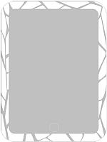 Зеркало Алмаз-Люкс ЗП-31 (80x60) -