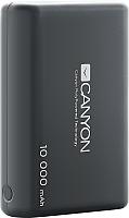 Портативное зарядное устройство Canyon CNS-CPBP10B (черный) -
