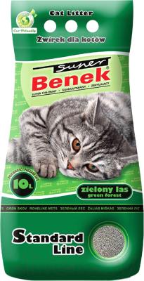 Наполнитель для туалета Super Benek Зеленый лес