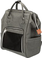 Рюкзак-переноска Trixie Ava 28840 (серый) -