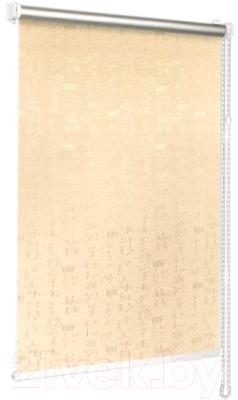 Фото - Рулонная штора Delfa Сантайм Азия Термо-Блэкаут СРШ-01МП 75101 рулонная штора венеция срш 01мп 79506 52х170 см кремовый блэкаут