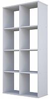 Стеллаж Polini Kids Home Smart Кубический 8 секций (белый) -