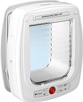 Электронная дверца для животных Ferplast Swing Microchip Large / 72093011 (белый) -