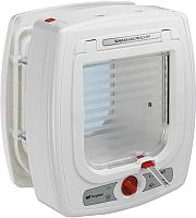 Электронная дверца для животных Ferplast Swing Microchip / 72090011 (белый) -