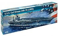 Сборная модель Italeri Американский авианосец U.S.S. Carl Vinson CVN-70 1:720 / 5506 -