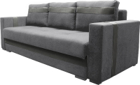 Диван Lama мебель Пингвин-3ТП 5гр (Bahama Steel/Marvel Grey) -