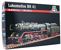 Сборная модель Italeri Локомотив BR41 1:87 / 8701 -
