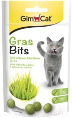 Витамины для животных GimCat GrasBits с травой / 417080