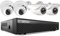 Комплект видеонаблюдения Ginzzu HK-447D -