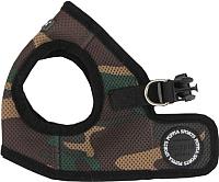 Шлея-жилетка для животных Puppia Soft Vest / PAHA-AH305-CA-L (камуфляж) -