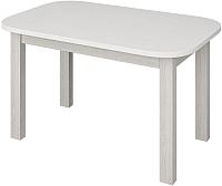 Обеденный стол Senira Р-02.06 (белый глянец/белый) -
