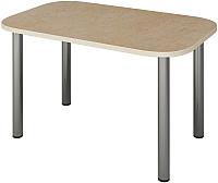 Обеденный стол Senira Р-001-01 (аламбра светлая/хром) -