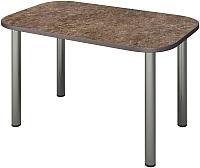 Обеденный стол Senira Р-001-01 (аламбра темная/хром) -