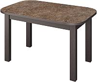 Обеденный стол Senira Р-02.06-01 (аламбра темная/венге) -