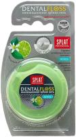 Зубная нить Splat Professional объемная с ароматом бергамота и лайма (30м) -