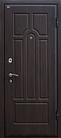 Входная дверь МеталЮр М5 Венге/темный орех (96x205, правая) -