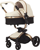 Детская универсальная коляска Rant Nest 3 в 1 / RA891 (кремовый) -