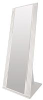 Зеркало Ижмебель Виктория 8 (белый глянец с порами/белая глянцевая пленка) -