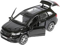 Масштабная модель автомобиля Технопарк Renault Koleos / KOLEOS-BK -