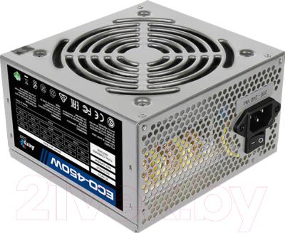 Блок питания для компьютера AeroCool ECO-450W