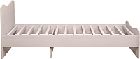 Односпальная кровать Ижмебель Принцесса 5 90 комплектация 2 (лиственница сибиу) -