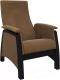 Кресло-глайдер Импэкс 101ст (венге/Verona Brown) -