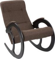 Кресло-качалка Импэкс Комфорт 3 (венге/malta 15 A) -