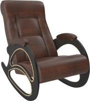 Кресло-качалка Импэкс Комфорт 4 (венге/antik crocodile) -