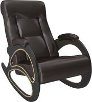 Кресло-качалка Импэкс Комфорт 4 (венге/oregon 120) -