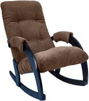 Кресло-качалка Импэкс Комфорт 67 (венге/verona brown) -