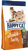 Корм для кошек Happy Cat Adult Atlantik-Lachs / 70196 (10кг) -