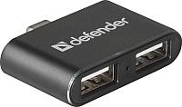 USB-хаб Defender Quadro Type-C / 83207 -