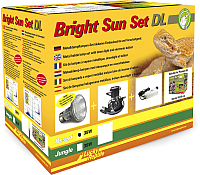 Комплект освещения для террариума Lucky Reptile Пустыня / BSSDL-D35B (черный) -