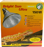 Лампа-обогреватель для террариума Lucky Reptile Bright Sun UV ULTRA пустыня / BSUD-150 -