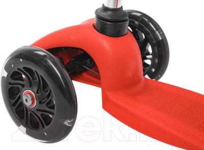 Самокат Sundays SA-100S-6 (красный, светящиеся колеса)