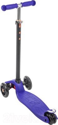 Самокат Sundays KB-02D-1 (синий, светящиеся колеса)