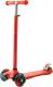 Самокат Sundays KB-02D-3 (красный, светящиеся колеса) -