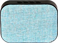 Портативная колонка Omega microSD/FM 3W Bluetooth / OG58BL (голубой) -