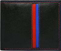 Портмоне Cedar N992-GSD-H (черный/красный/синий) -