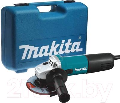 Профессиональная угловая шлифмашина Makita 9558HNK6