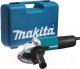 Профессиональная угловая шлифмашина Makita 9558HNK6 -