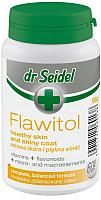 Витамины для животных Dr Seidel Flawitol здоровая кожа и красивая шерсть для собак (60таб) -